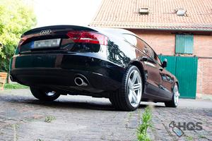 Audi A5 Schwarz Uni