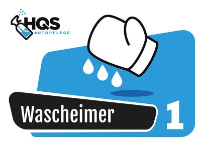 "HQS Autopflege - Eimer Aufkleber ""Wascheimer 1"""