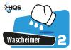 "HQS Autopflege - Eimer Aufkleber ""Wascheimer 2"""