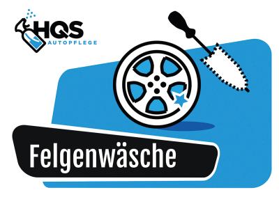 HQS Autopflege - Eimer Aufkleber...