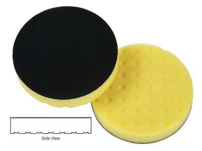 Lake Country - CCS Cutting Pad gelb 165mm