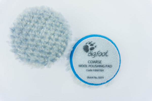 Rupes - Blue Wool Polierpad Coarse 50-65mm (Ibrid)