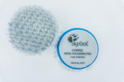 Rupes - Blue Wool Polierpad Coarse 50-65mm (Ibrid) 9.BW70H