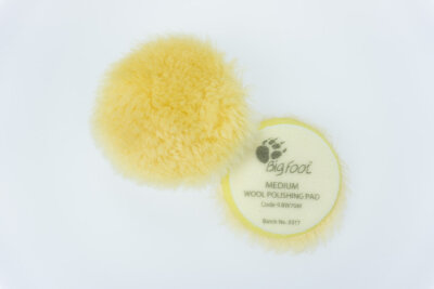 Rupes - Yellow Wool Polierpad Medium 50-65mm (Ibrid) 9.BW70M