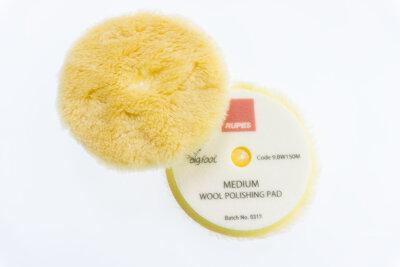 Rupes - Yellow Wool Polierpad Medium 130-150mm (LHR15)...