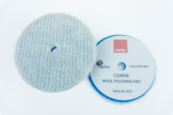 Rupes - Blue Wool Polierpad Coarse 150-170mm (LHR21) 9.BW180H