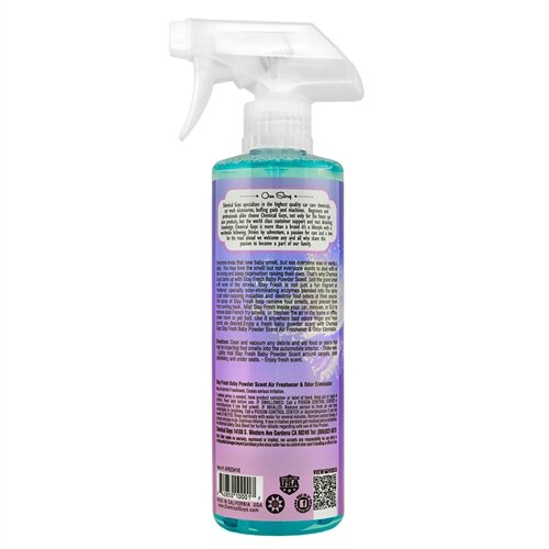 Chemical Guys - Stay Fresh Baby Powder Scent 473ml
