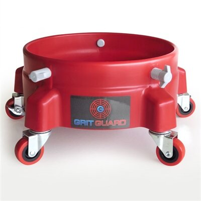 Grit Guard - Rollensystem Dolly red