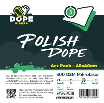 """DopeFibers - PolishDope """"Finish"""" - 4er Pack..."""