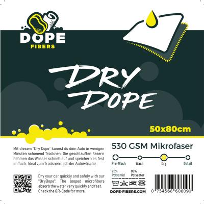 DopeFibers - DryDope 50x80 (Trockentuch)