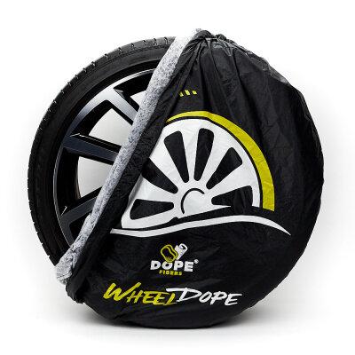 Dope Fibers - Wheel Dopes 2er-Set (Reifenhauben)