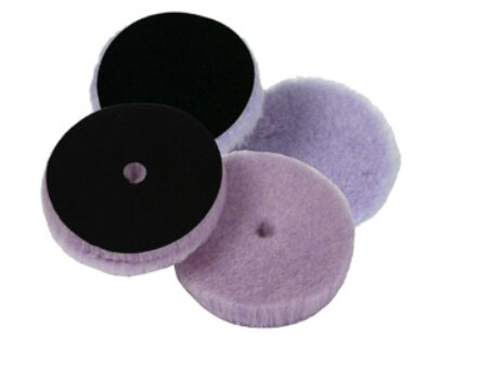 Lake Country - Foamed Wool Buffing Pad Lila 140mm