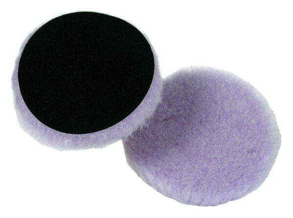 Lake Country - Foamed Wool Buffing Pad Lila 76mm