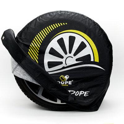 Dope Fibers - Wheel Dopes 2er-Set (Reifenhauben) Offen