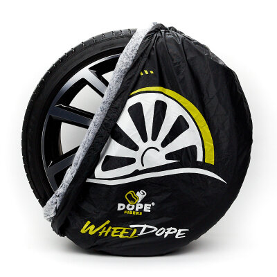 Dope Fibers - Wheel Dopes 2er-Set (Reifenhauben) Geschlossen