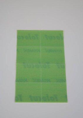 Kovax Tolecut Trockenschleifmittel 1 Bogen a 8Stk 2000er...