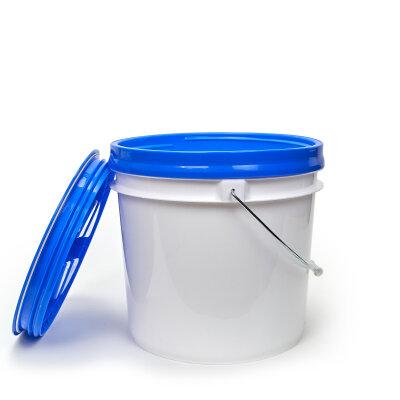 DopeFibers - BucketSet 13L inkl. Sieb+Deckel in BLAU