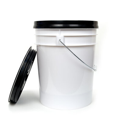 DopeFibers - BucketSet 20L inkl. Sieb+Deckel in SCHWARZ