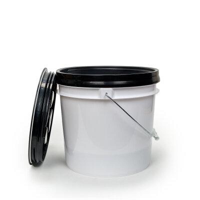 DopeFibers - BucketSet 13L inkl. Sieb+Deckel in SCHWARZ