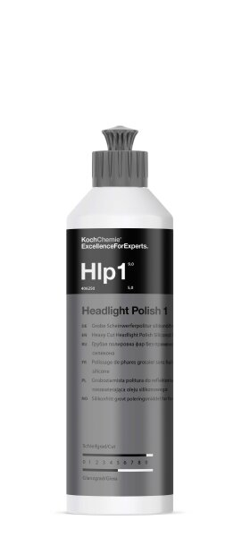 Koch Chemie - Headlight Polish 1 - Grobe Scheinwerferpolitur silikonölfrei - 250ml