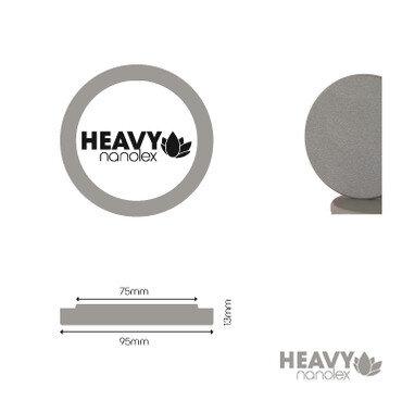 Nanolex - Polierpad Hard Grau 95x13x75