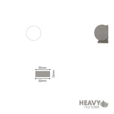 Nanolex - Polierpad Hard Grau 32x13x32