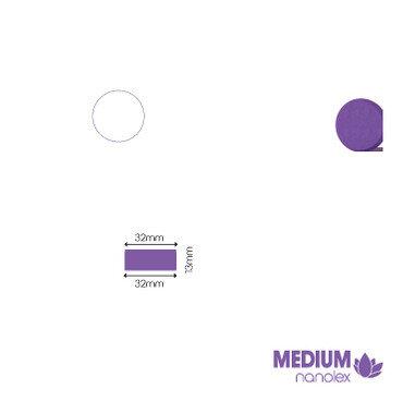 Nanolex - Polierpad Medium Lila 32x13x32