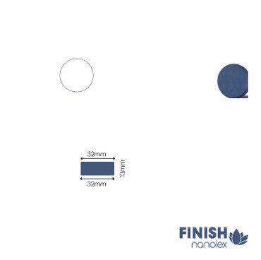 Nanolex - Polierpad Soft Dunkelblau 32x13x32