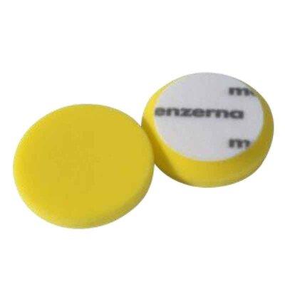 Menzerna - Medium Cut Foam Pad 95mm 2er Pack (Step 2) gelb