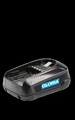 Gloria - 2.5Ah BOSCH Akku