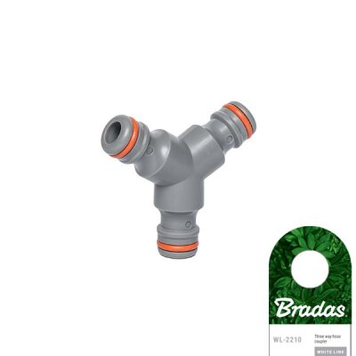 Bradas - WHITE LINE T für drei Anschlüsse