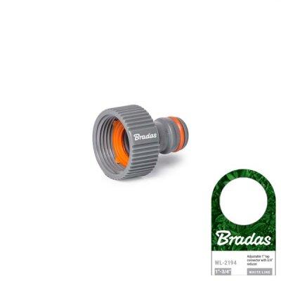 "Bradas - WHITE LINE Hahn-Adapter 3/4"""
