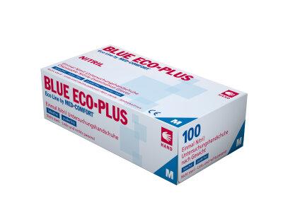 Ampri - Nitril Einmalhandschuhe blau unsteril (100 Stck.)