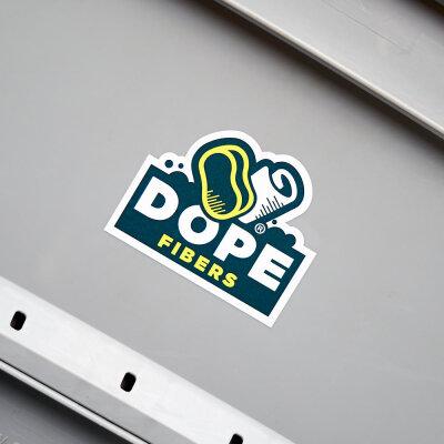 DopeFibers - Sticker UV-, Wetter- und...