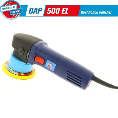 Polishing Power - DAP500 EL 8mm D/A (Dual Action) Poliermaschine 500 Watt