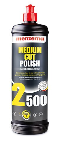 Menzerna - Medium Cut Polish 2500 - 1000ml