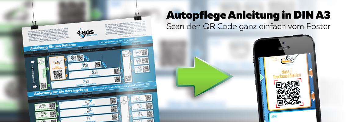 Autopflege Anleitung im DIN A3 Format